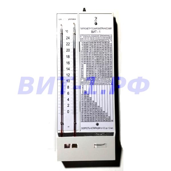 ВИТ-1 (0…+25)°С Гигрометр психрометрический